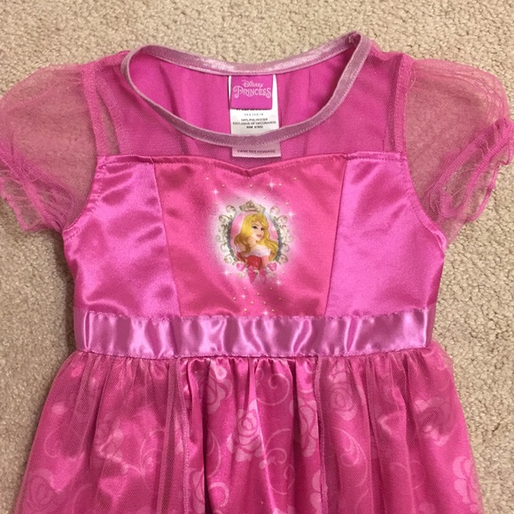 Disney Other - Disney Princess night gown size 4T